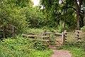 A gate on the Ridgeway on Whiteleaf Hill - geograph.org.uk - 1458768.jpg