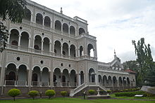 Il palazzo dell'Aga Khan a Pune