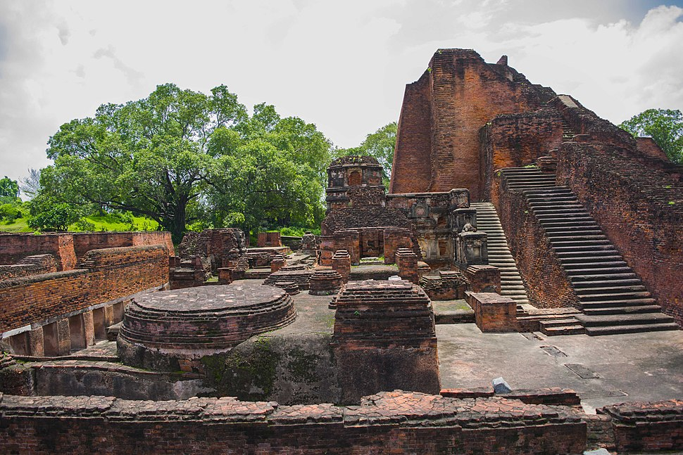 A view of Nalanda University