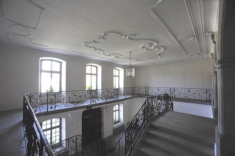 File abbaye d 39 hauterive treppenhaus im westtrakt 02 09 for Hauterive 03