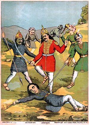 Abhimanyu - Merciless killing of Abhimanyu