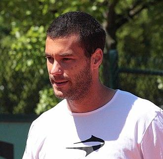 José Acasuso - Image: Acasuso Roland Garros 2009 1
