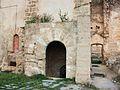 Accés a la capella inferior de Sant Martí, cartoixa de Valldecrist.JPG