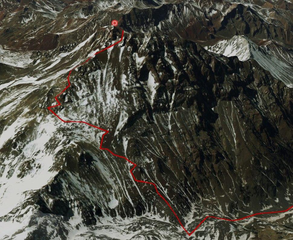 Aconcagua Summit Route
