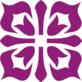 Acorn Square Ornament Purple.png