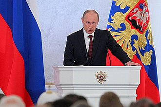 President of Russia - President Vladimir Putin delivering the 2012 Address to the Federal Assembly
