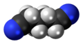 Adiponitrile 3D spacefill.png