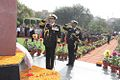 Admiral RK Dhowan paying homage at Noida Shaheed Smarak during the annual wreath laying ceremony.JPG