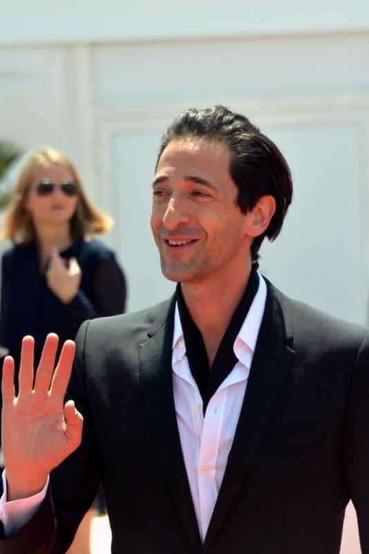 Adrien Brody Cannes 2017