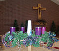 Advent Wreath of Saint Peter's Catholic Church.jpg