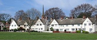 Woodlands, South Yorkshire - Image: Adwick part of Woodlands Model Village