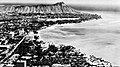 Aerial view of Waikiki, with Diamond Head in the background, circa in 1956.jpg