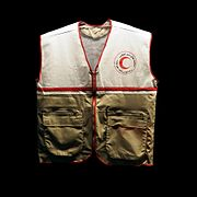 Afghan Red crescent jacket-MICR COL-2008-24-15
