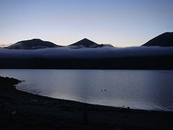 Afognak Island and fog at midnight in July, Alaska 2009 206.jpg
