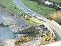 Afon y Bala Dam gates from the third leg of the Zig-Zag Path - geograph.org.uk - 296025.jpg