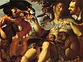 Agostino Carracci - Hairy Harry, Mad Peter and Tiny Amon - WGA4398.jpg