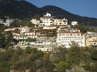 Agros, Cyprus - View Of Agros