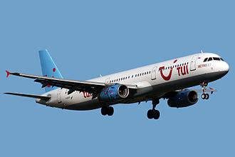Metrojet (Russian airline) - Metrojet Airbus A321-200 in its former TUI Travel livery