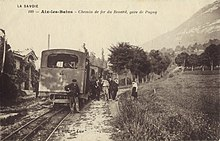 ancienne carte postale du chemin de fer du Revard