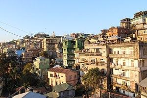 Aizawl - Aizawl city