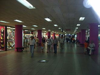 Aksaray, Fatih - Underground market in Aksaray.