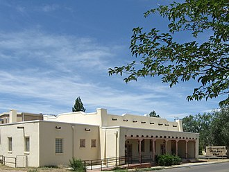 National Register of Historic Places listings in Otero County, New Mexico - Image: Alamogordo Woman's Club building