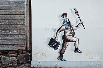 The Emperor's New Clothes - Graffiti in Tartu