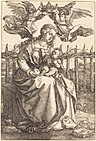 Albrecht Dürer - The Virgin and Child Crowned by Two Angels (NGA 1943.3.3537).jpg