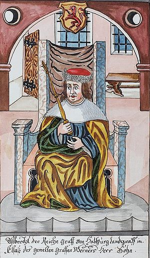 Albert III, Count of Habsburg - Image: Albrecht III the Rich, count of Habsburg