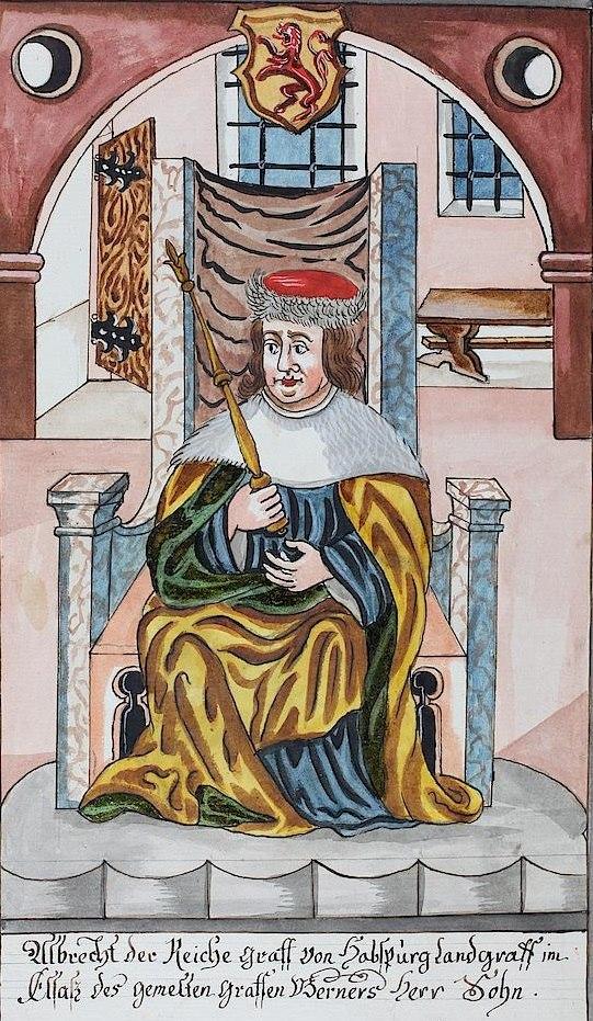 Albrecht III the Rich, count of Habsburg