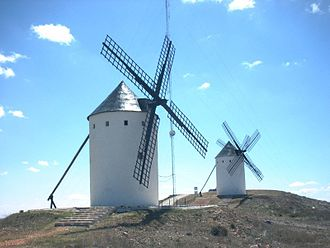 Alcázar de San Juan - Old windmills.