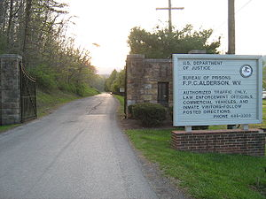 Incarceration of women in the United States - Federal Prison Camp, Alderson, a Federal Bureau of Prisons facility for women in West Virginia