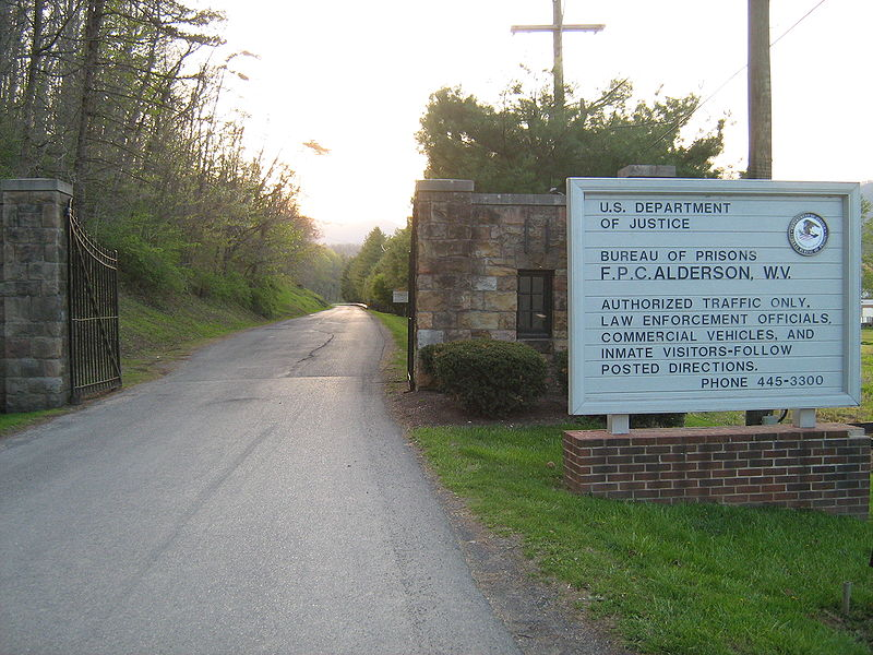 Alderson Federal Prison Camp entrance.jpg
