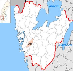 Ale Municipality - Image: Ale Municipality in Västra Götaland County