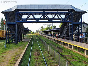 San Vicente Partido - Alejandro Korn railway station.