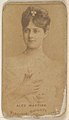 Alex Martins, from the Actors and Actresses series (N45, Type 1) for Virginia Brights Cigarettes MET DP830482.jpg