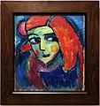 Alexei jawlensky, donna pallida con capelli rossi, 1911-12.jpg