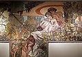 Alfons mucha, l'epoca romana e l'arrivo degli slavi, dipinto per padiglione bosnia-h. all'esp. univ. di parigi del 1900, 12.jpg