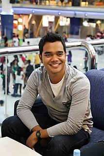 Alif Satar Malaysian reality television contestant, singer, television host and actor