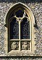 All Saints Church, Welborne, Norfolk - Window - geograph.org.uk - 807744.jpg