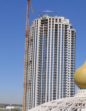 Allure Las Vegas - Allure during construction