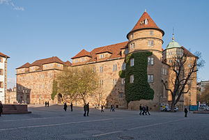 House of Württemberg - Image: Altes Schloss S vm 01