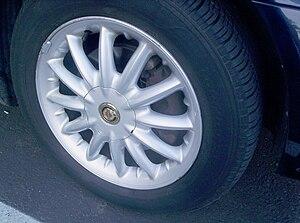 Alloy wheel - Chrysler alloy wheel
