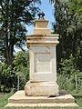 Amel-sur-l'Étang (Meuse) croix de chemin, vestige.JPG