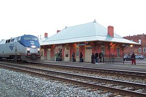 Culpeper, Virginia - Culpeper Amtrak station, Visitor Center and Museum of Culpeper History