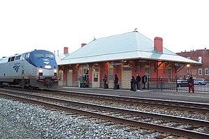 Culpeper station - Image: Amtrak Station in Culpeper VA