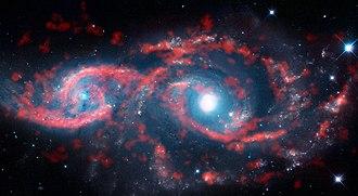 NGC 2207 and IC 2163 - Image: An All Seeing Eye
