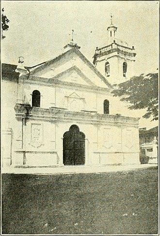 Basilica del Santo Niño - The Basilica in 1904