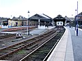 An unusually quiet Huddersfield station - geograph.org.uk - 489116.jpg