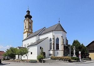 Andorf - Image: Andorf Pfarrkirche